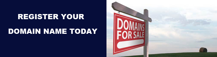 Register and Manage your domain names here